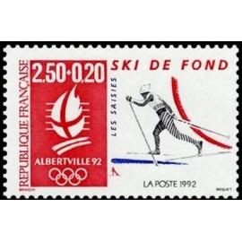 France Yvert Num 2742 ** JO 1992  1992