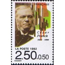 France Yvert Num 2747 ** Musique cesar Franck 1992