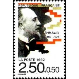 France Yvert Num 2748 ** Musique Erik Satie 1992
