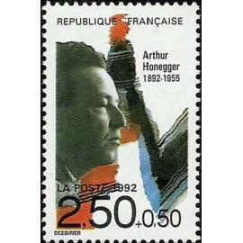 France Yvert Num 2750 ** Musique Arthur Honegger 1992