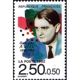 France Yvert Num 2751 ** Musique Georges Auric 1992