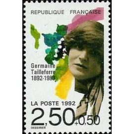 France Yvert Num 2752 ** Musique Tailleferre 1992