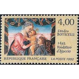 France Yvert Num 2754 ** Botticelli Ajaccio  1992
