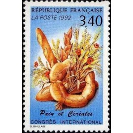 France Yvert Num 2757 ** Boulanger Pain  1992