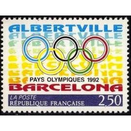 France Yvert Num 2760 ** JO   1992