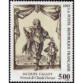 France Yvert Num 2761 ** Tableau Jacques Callot  1992