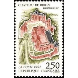France Yvert Num 2763 ** Château de Biron   1992