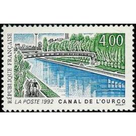 France Yvert Num 2764 ** Canal de L'ourcq  1992