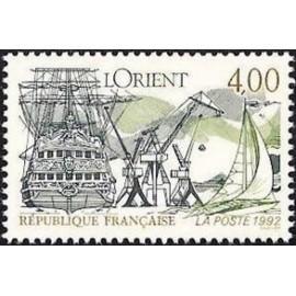 France Yvert Num 2765 ** Lorient  1992