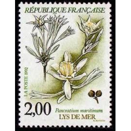 France Yvert Num 2766 ** Fleurs   1992