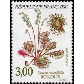 France Yvert Num 2767 ** Fleurs   1992