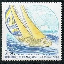 France Yvert Num 2789 ** voiliers bateau  1993