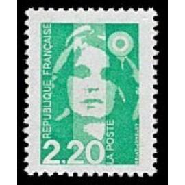 France Yvert Num 2790 ** 2f20 vert clair  1993