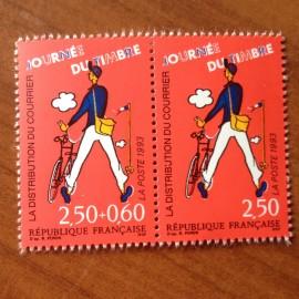 France Yvert Num P2793A ** PAIRE 2792 +2793  1993