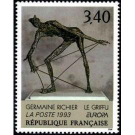 France Yvert Num 2798 ** Tableau Europa  1993