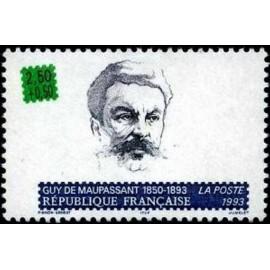 France Yvert Num 2799 ** Maupassant  1993