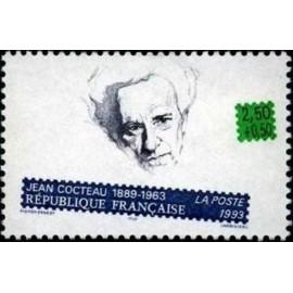 France Yvert Num 2801 ** Jean Cocteau  1993