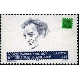 France Yvert Num 2802 ** Marcel Pagnol  1993
