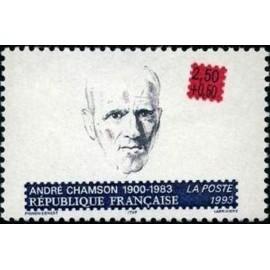 France Yvert Num 2803 ** André Chamson  1993