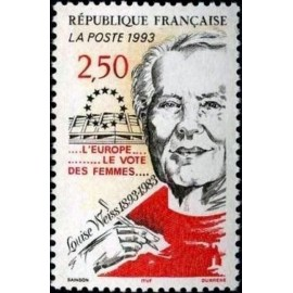 France Yvert Num 2809 ** Louise Weiss  1993