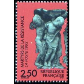 France Yvert Num 2813 ** Resistance  1993