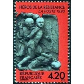 France Yvert Num 2814 ** Resistance  1993
