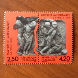 France Yvert Num P2813A ** Resistance  1993