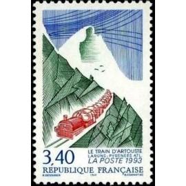 France Yvert Num 2816 ** Train Artouste  1993