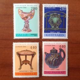 France Yvert Num 2854-2857 **   1994