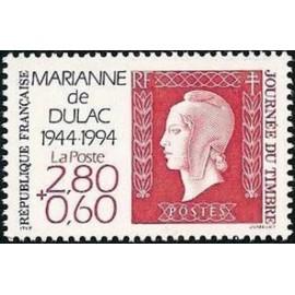 France Yvert Num 2863 ** Marianne  Dulac   1994