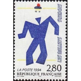 France Yvert Num 2868 ** France Suede  1994