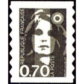 France Yvert Num 2873 ** 2873 0,70 adhesif  1994