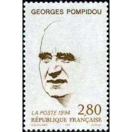 France Yvert Num 2875 ** Georges Pompidou  1994