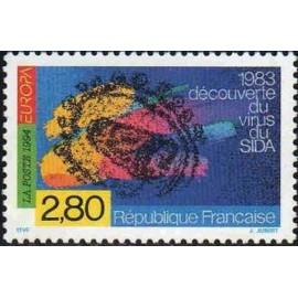 France Yvert Num 2878 ** Europa 1994 Sida  1994