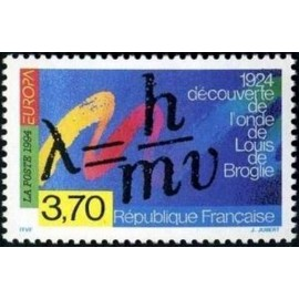 France Yvert Num 2879 ** Europa 1994 Broglie  1994