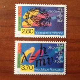 France Yvert Num 2878-2879 ** Europa  1994