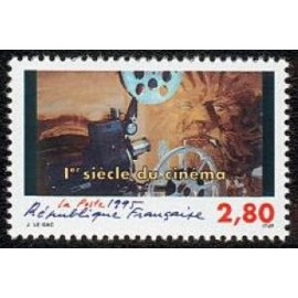 France Yvert Num 2921 ** Cinema  1995