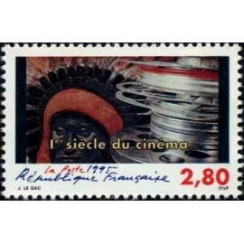 France Yvert Num 2922 ** Cinema  1995