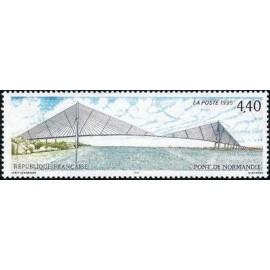 France Yvert Num 2923 ** Pont de Normandie  1995
