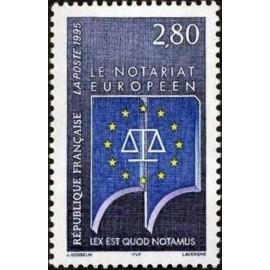France Yvert Num 2924 ** Europe  1995