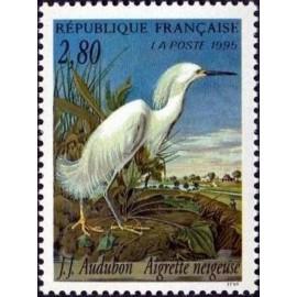 France Yvert Num 2929 ** Audubon  1995