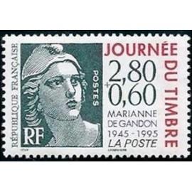 France Yvert Num 2933 ** gandon 2f80+0,60  1995