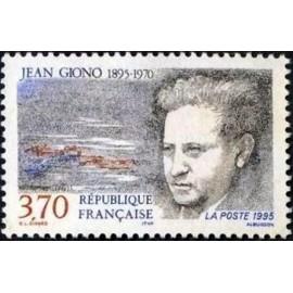 France Yvert Num 2939 ** Jean Giono  1995