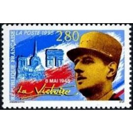 France Yvert Num 2944 ** De Gaulle  1995