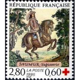 France Yvert Num 2946 ** Croix Rouge Saumur  1995