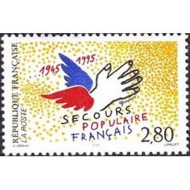 France Yvert Num 2947 ** Secours populaire  1995
