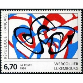 France Yvert Num 2986 ** Tableau Wercollier  1996