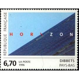 France Yvert Num 2987 ** Tableau Dibbets  1996