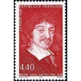 France Yvert Num 2995 ** René Descartes  1996
