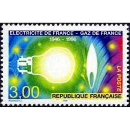 France Yvert Num 2996 ** Electricité  1996